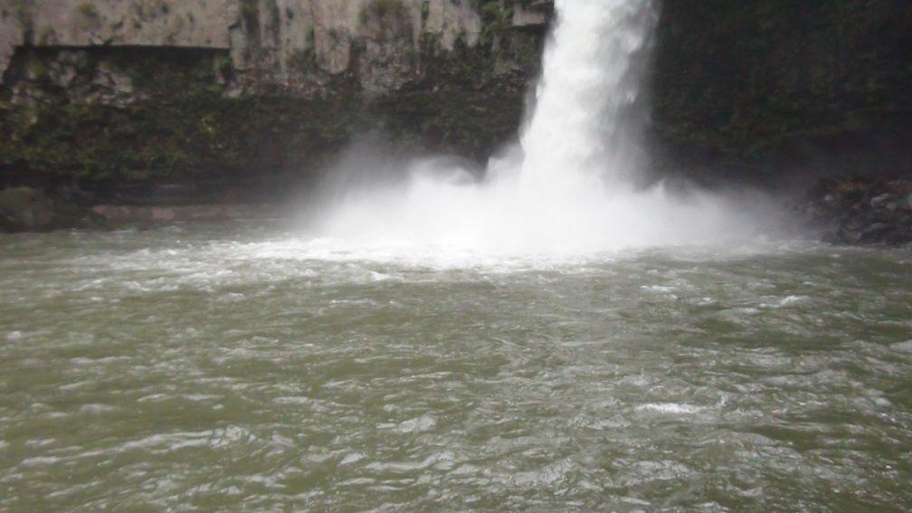 うのこの滝 滝壺